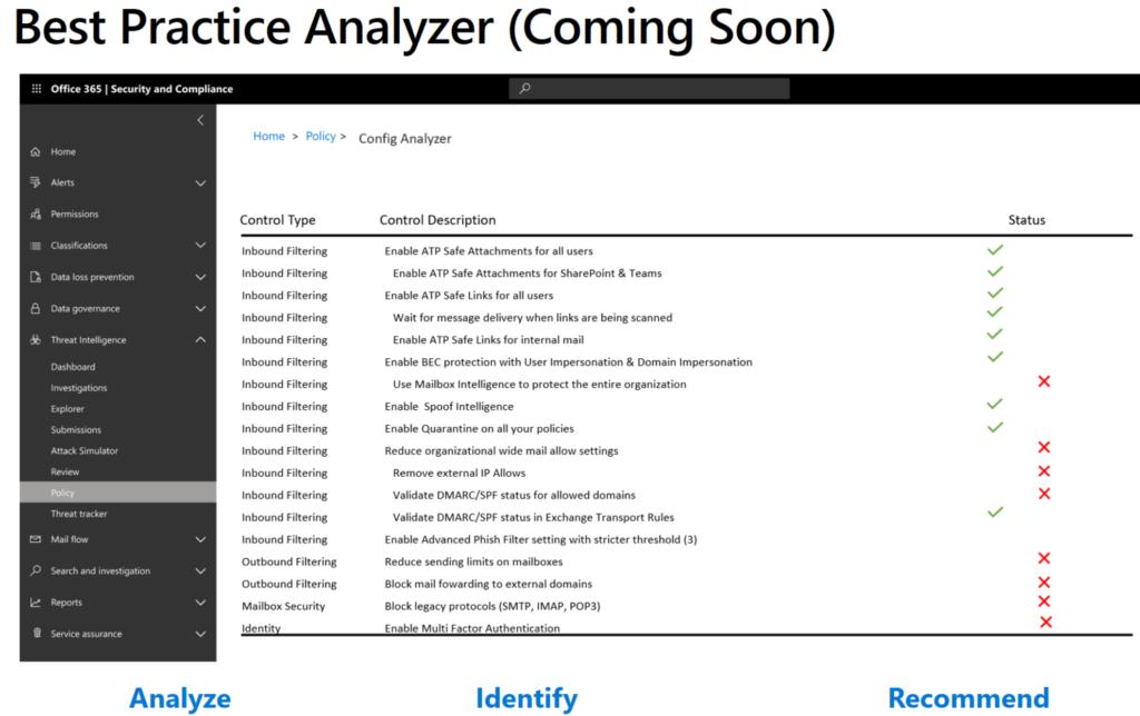 Best Practive Analyzer