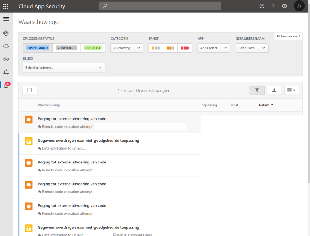 Cloud App Security Portal