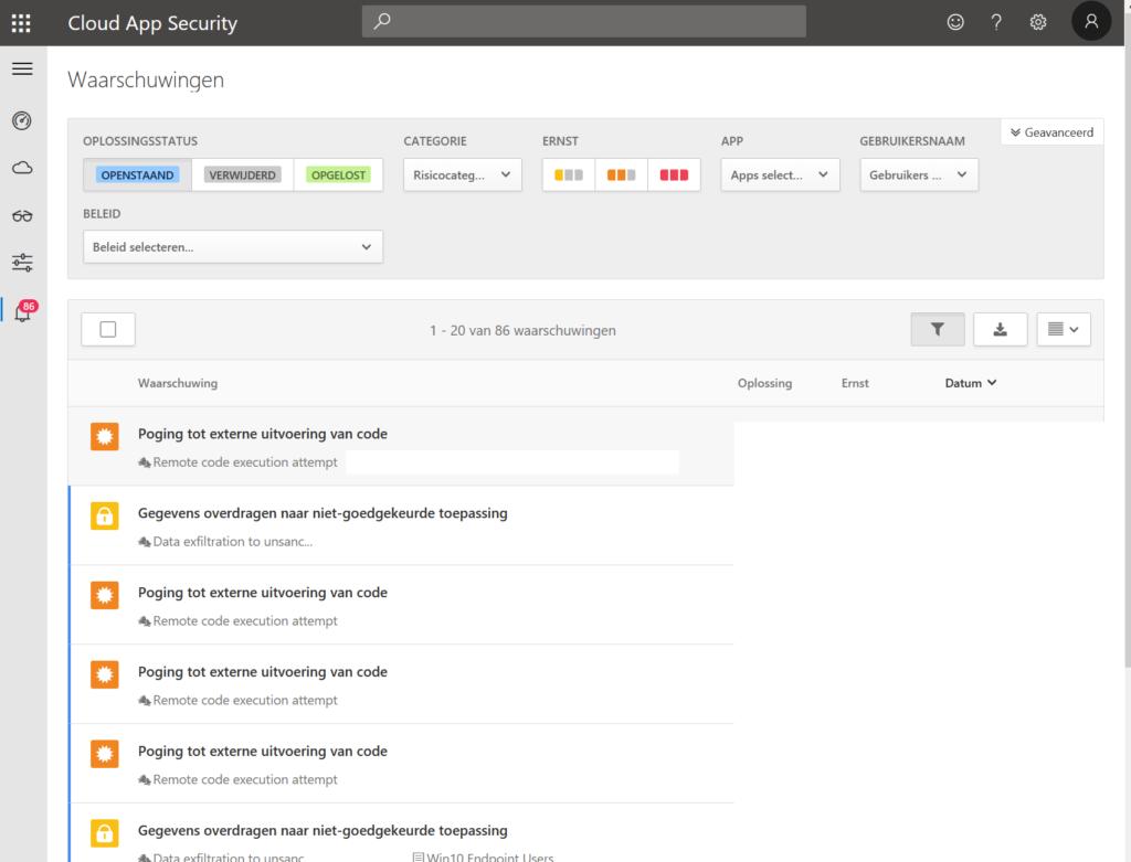 Cloud App Security Portal
